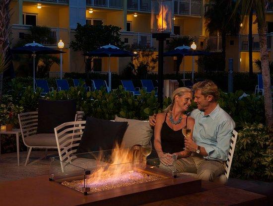 Highland Beach, FL: Fire Pit
