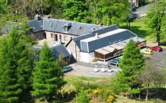 Torridon, UK: Aerial Of Inn