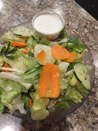 Carlisle, Pensilvania: side salad