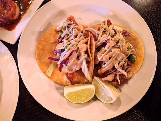 Warrenville, IL: Fish taco