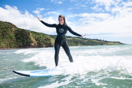 Learn about Raglan's surf culture with fun. style and flair!