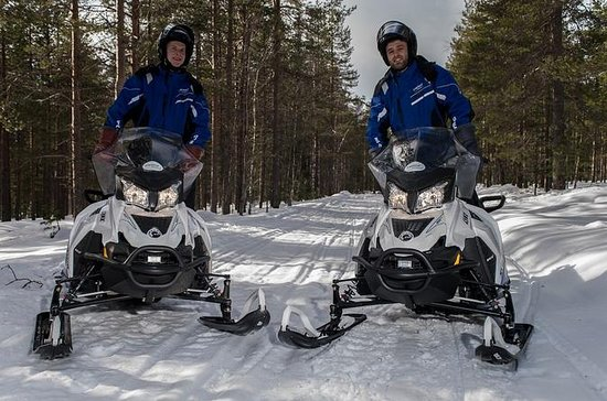 Snowmobile Safari to Reindeer and ...