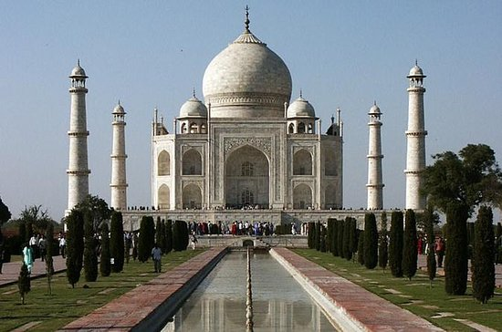 Taj Mahal at Sunset and Agra Day-Tour...