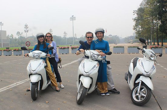 Hanoi City Tour half day by Motorbike...
