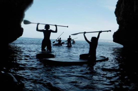 Stand Up Paddle Tour Caves