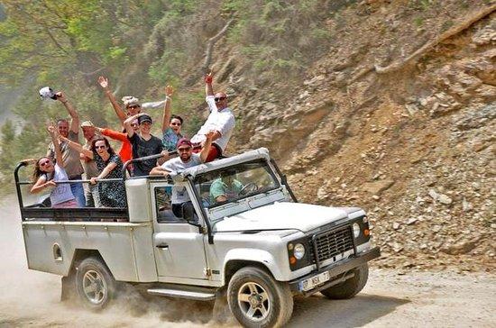 Jeep walk and aquamania