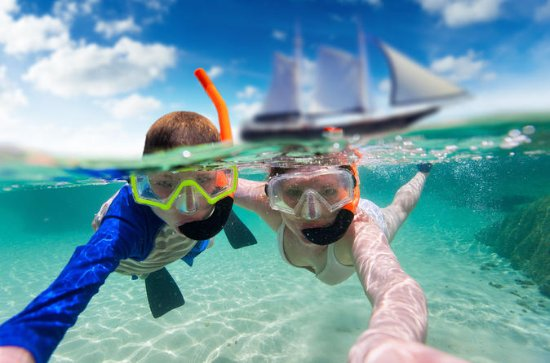 Morning Adventure Snorkel voile avec...