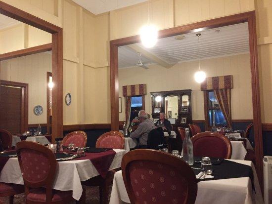 Kingston, Australien: the anoying dining room