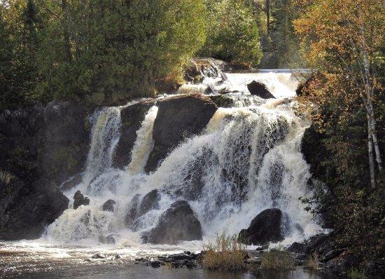 Atikokan, Canadá: The main falls