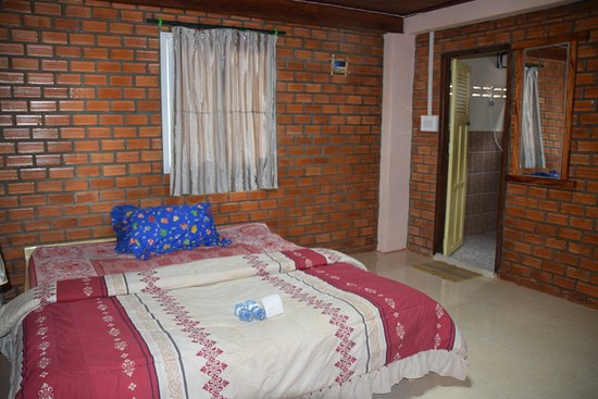 Khammouane Province, Laos: Doppelzimmer mit privaten Bad