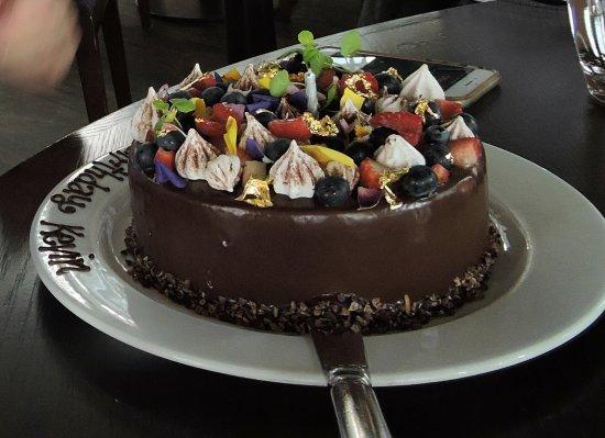Cafe Sydney Birthday Cake Chocolate Of Course
