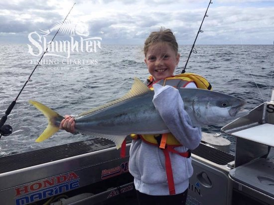 Houhora, Nouvelle-Zélande : Slaughter Fishing Charters