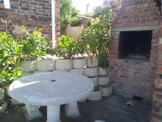 Dana Bay, Sudafrica: Unit 7 BBQ Area
