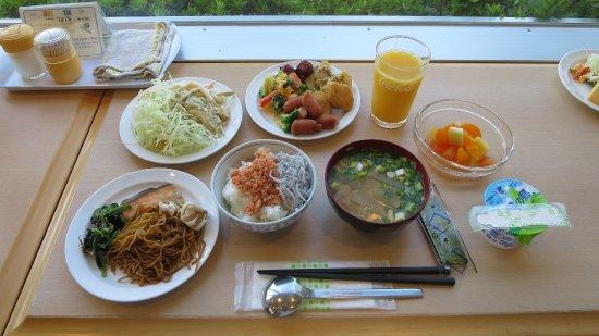KuretakeInnHamamatsuNishiInter : 私の食べた朝食