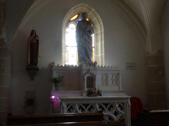 La Perriere, Fransa: Chapelle