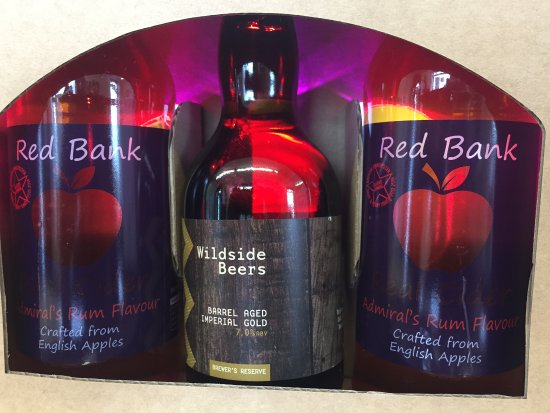 Bolton, UK: Admirals Gift Set comprising of rum Cask Real Ale & Award Winning Admirals Rum Cider!