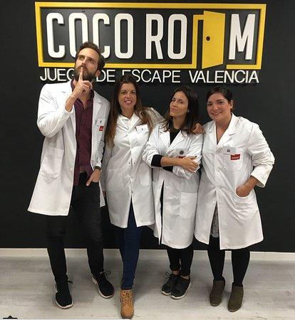 Cuatro Amigas Y Un Científico Loco Picture Of Coco Room Valencia