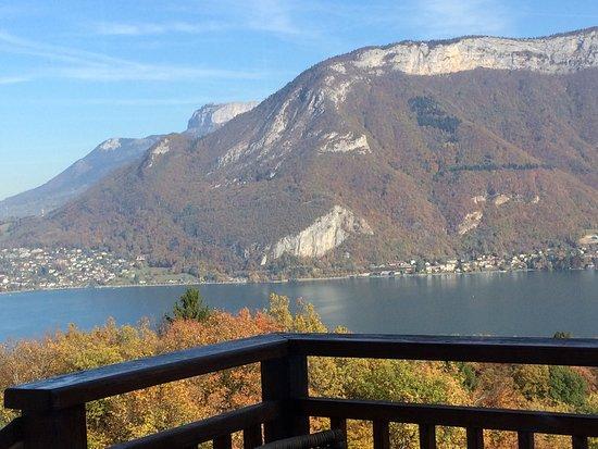 Restaurant les terrasses du lac dans annecy avec cuisine for La fourchette annecy