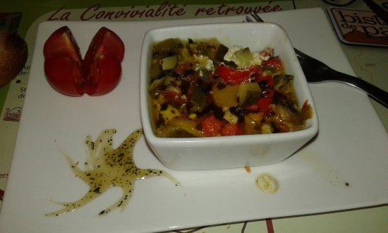 La Martre, France : Tiramisu de légumes