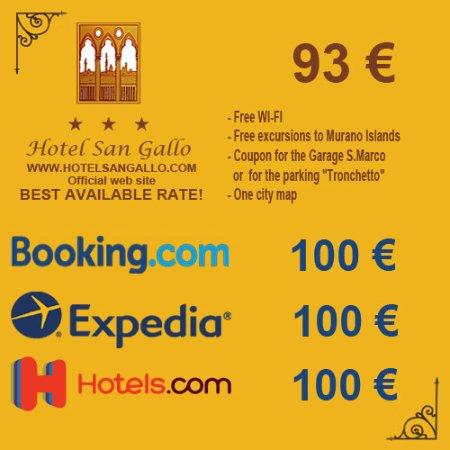 Hotel San Gallo Venedig