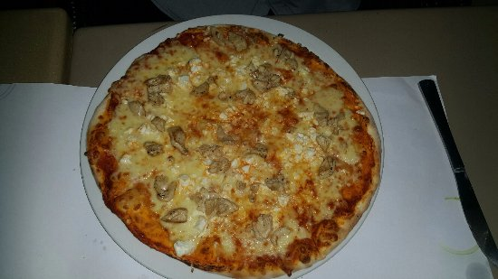 Edenvale, Sør-Afrika: Pizza that my husband raved about
