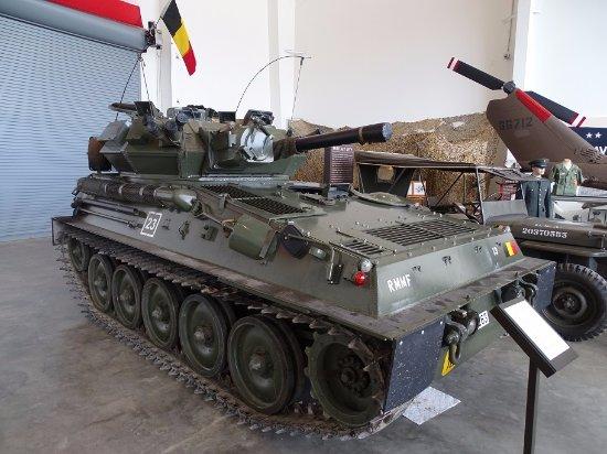 """Regional Military Museum: Belgian """"Scorpion"""" (Go Belgium !!)"""