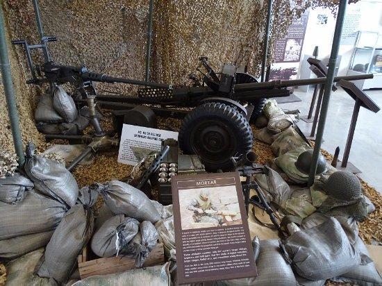 Regional Military Museum: display