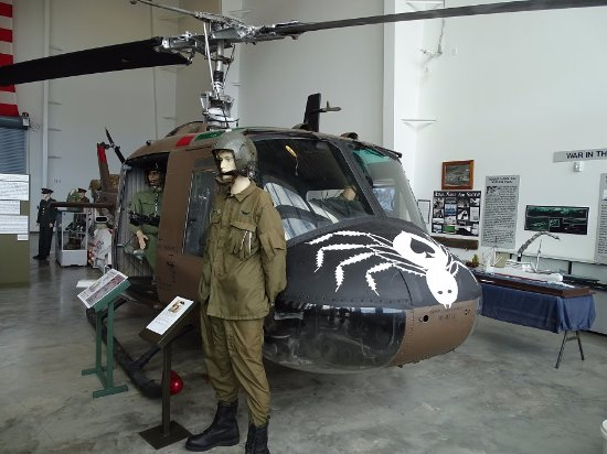 Regional Military Museum: UH-1 Display