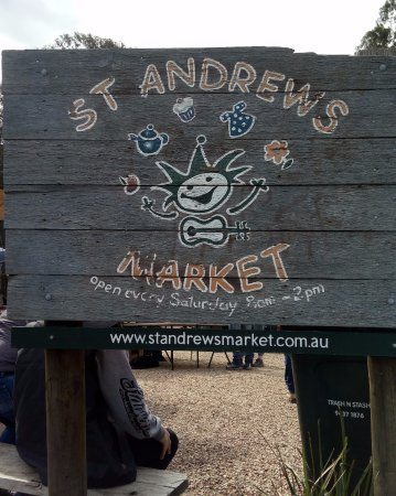 St Andrews Market - Saturdays 8am until 2pm