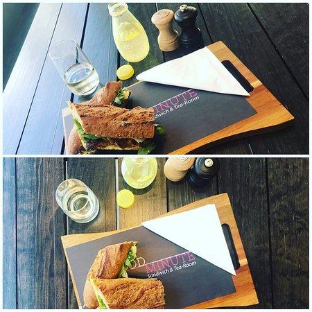 Strombeek-Bever, เบลเยียม: Des sandwiches que vous ne trouvez pas ailleurs