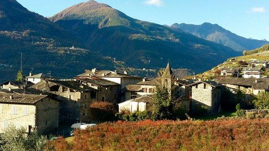 Tresivio, Italia: Vistas desde la terraza