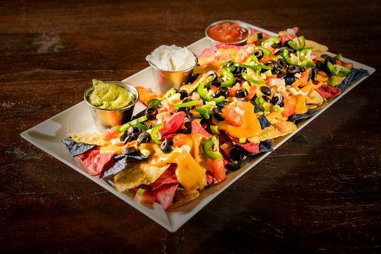 Saint-Bernard-de-Lacolle, แคนาดา: Tasty nacho platter