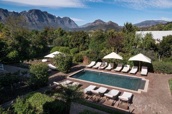 Plumwood Inn: view from luxury room