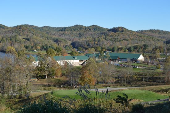 Roanoke, WV: View of resort from course!
