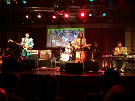 Beatles Bootleg show at Anita's Theatre Thirroul NSW October 2017