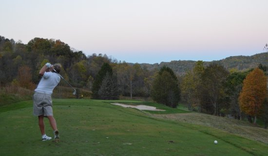 Roanoke, WV: great course to play!