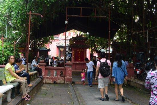 Emperor Jade Pagoda (Chua Ngoc Hoang or Phuoc Hai Tu) : 一進去玉皇廟的樣子
