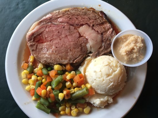 Sioux Lookout, Kanada: Best prime rib of my life