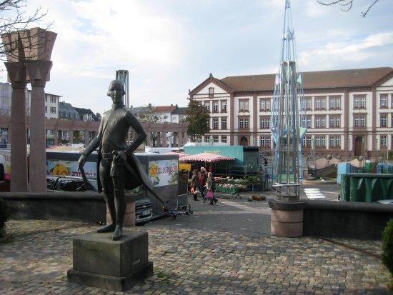 """Pirmasens, เยอรมนี: Ludwig, der IX. und """"Exe"""""""