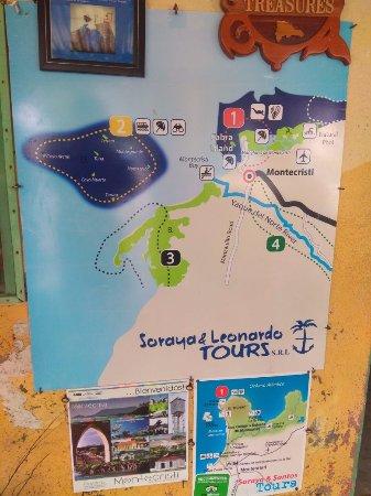 Monte Cristi Province, Dominikanische Republik: Diferentes rutas en Montecristi