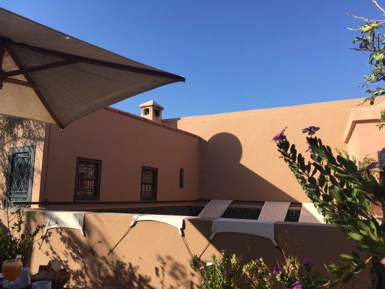 Riad Dar Zaman: The Roof Terrace