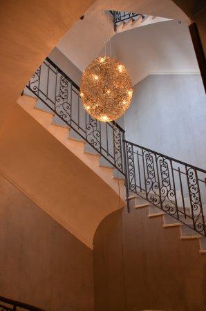 Hotel San Anselmo: Treppenhaus