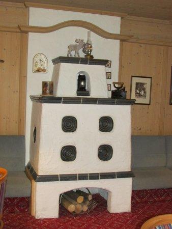 Oberndorf, Áustria: gemütliches Kaminzimmer