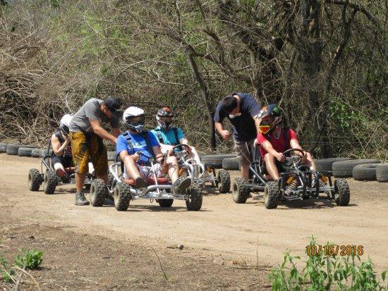 Kiepersol, Zuid-Afrika: Bush Go-Karts at Hamiltons what a blast!!!!