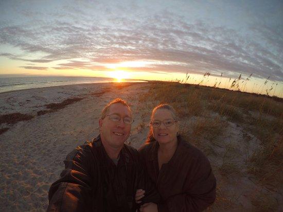 Fort Clinch State Park: Grandpa & Grandma, sunrise on Amelia Island