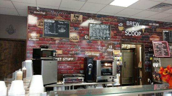 Opelousas, Луизиана: Brew & Scoop