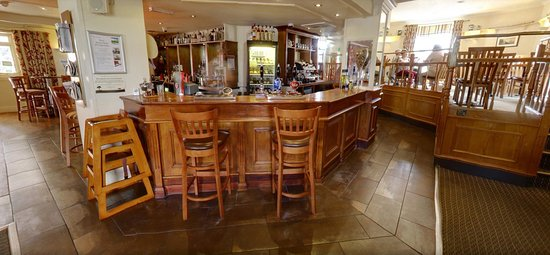 Churston Ferrers, UK: A view of the Restaurant