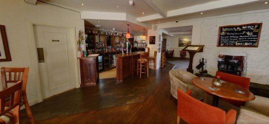 Churston Ferrers, UK: The Bar area