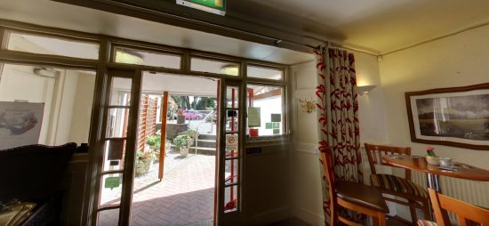 Churston Ferrers, UK: Our main entrance from the inside