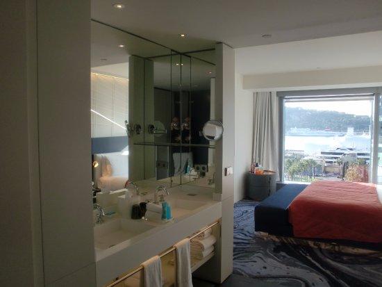 suite studio 537 - salle de bain ouverte - picture of w barcelona ... - Salle De Bain Ouverte